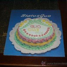 Discos de vinilo: STATUS QUO MAXI SINGLE QUO CAKE MIX MUY RARO. Lote 22201320