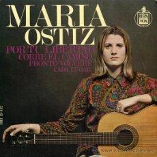 Discos de vinilo: MARÍA OSTIZ - POR TU LIBERTAD - EP, 1968. Lote 26518117