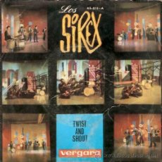 Discos de vinilo: SINGLE LOS SIREX - TWIST AND SHOUT - MUCHACHA BONITA. Lote 22240808