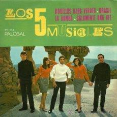 Discos de vinilo: LOS 5 MUSICALES EP SELLO PALOBAL AÑO 1968. Lote 22244258