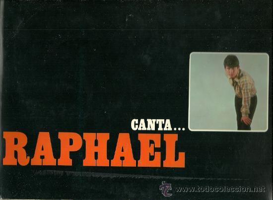 RAPHAEL LP PORTADA DOBLE SELLO HISPAVOX AÑO 1966 (ORIGINAL DE EPOCA). (Música - Discos - LP Vinilo - Solistas Españoles de los 50 y 60)