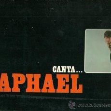 Discos de vinilo: RAPHAEL LP PORTADA DOBLE SELLO HISPAVOX AÑO 1966 (ORIGINAL DE EPOCA).. Lote 22252951
