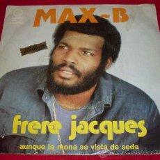 Discos de vinilo: MAX - B - CARÁTULA + DISCO MUY RAYADO. Lote 22267679