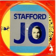 Discos de vinilo: JO STAFFORD * SINGLE VINILO PICTURE DISC * LTD 1000 COPIAS * NUEVO * FOTODISCO MUY RARO!!. Lote 26494297