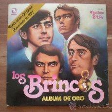 Discos de vinilo: LOS BRINCOS - ALBUM DE ORO - (ZAFIRO-1981) 2LP'S. Lote 23628301