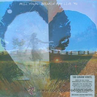 LP NEIL YOUNG DREAMIN´MAN LIVE 92 HARVEST MOON VINILO (Música - Discos - LP Vinilo - Pop - Rock Extranjero de los 50 y 60)