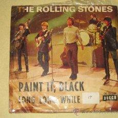 Discos de vinilo: THE ROLLING STONES - PAINT IT BLACK - ED. INGLESA. Lote 22288042