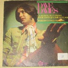 Discos de vinilo: DAVE DAVIES - LA MUERTE DE UN PAYASO - 1967. Lote 22288310