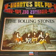 Discos de vinilo: ROLLING STONES - GIGANTES DEL POP - 1981 - . Lote 22289541