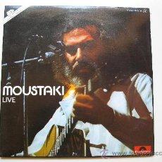 Discos de vinilo: LP DOBLE - GEORGES MOUSTAKI -