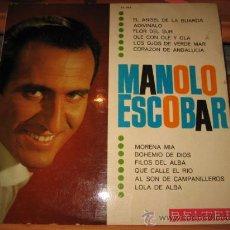 Discos de vinilo: MANOLO ESCOBAR BELTER 1966. Lote 22306613