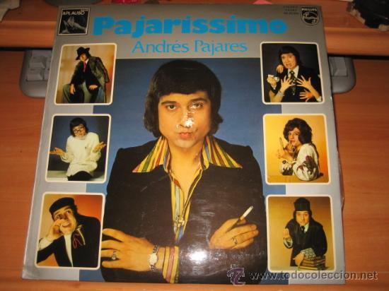 PAJARISSIMO ANDRES PAJARES PHILIPS1975 (Música - Discos - LP Vinilo - Otros estilos)