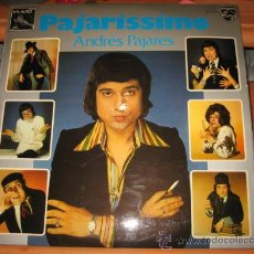 Discos de vinilo: PAJARISSIMO ANDRES PAJARES PHILIPS1975. Lote 22307008