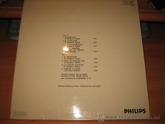 Discos de vinilo: PAJARISSIMO ANDRES PAJARES PHILIPS1975 - Foto 2 - 22307008
