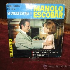 Discos de vinilo: MANOLO ESCOBAR. Lote 22307890