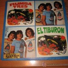 Discos de vinilo: RUMBA TRES EL TIBURON BELTER 1976. Lote 22308652