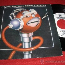 """Discos de vinilo: PARDO,RODRIGUEZ,SISINIO Y CHRISTIAN 7"""" EP POPOTITOS ESTREMECETE PROMO 1981 LOS CONTINENTALES RARO. Lote 24966092"""