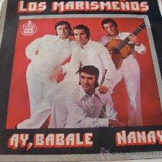Discos de vinilo: LOS MARISMEÑOS ( AY, BABALE) 45 RPM (EPX13). Lote 22377281