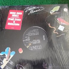 Discos de vinilo: FREDI GRACE AND RHINSTONE-HEAD OVER HEELS-1983-MADE IN U.S.A.MX 33RPM-PROMOCIONAL-. Lote 22387620