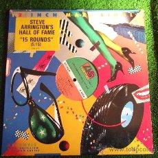 Discos de vinilo: STEVE ARRINGTON´S HALL OF FAME -15 ROUND-MX33RPM--PROMOCIONAL-1984-. Lote 22387960