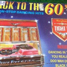 Discos de vinilo: BACK TO THE 60´S-40 NON-STOP DANCING HITS-LP 33RPM-1981-. Lote 23658366