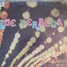 Discos de vinilo: RUDY VENTURA ¡QUE VERBENA! LP 33 RPM-1974-. Lote 23658633