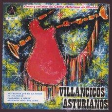 Discos de vinilo: VILLACINCOS ASTURIANOS AGRUPACION DE COROS Y DANZAS DEL CENTRO ASTURIANO DE MADRID 1962. Lote 25643356
