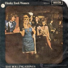 Discos de vinilo: ROLLING STONES EP ESPAÑA DECCA 1969. Lote 26864729