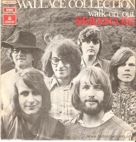 WALLACE COLLECTION SINLGLEDE EMI AÑO 70 (Música - Discos - Singles Vinilo - Pop - Rock Extranjero de los 50 y 60)