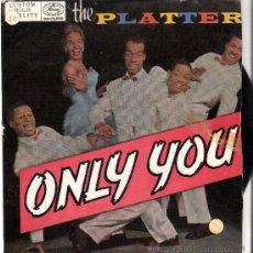 Discos de vinilo: THE PLATTERS EP MERCURY DEL 59 ESPAÑOL. Lote 26864732