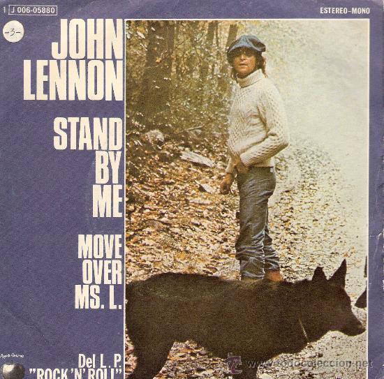 JOHN LENNON APLE PROMO 1975 (Música - Discos - Singles Vinilo - Pop - Rock Extranjero de los 50 y 60)