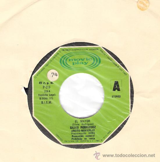 PABLO MILANES PROMO MOVIOPALY 1975 (Música - Discos - Singles Vinilo - Cantautores Extranjeros)