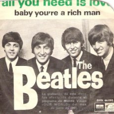 Discos de vinilo: THE BEATLES EMI 1967. Lote 26762800