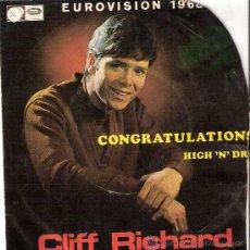 Discos de vinilo: CLIF RICHARD LA VOZ DE SU AMO 1968. Lote 22373207