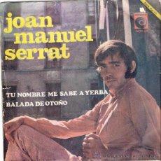 Discos de vinilo: JOAN MANUEL SERRAT NOVOLA 1968. Lote 22374976