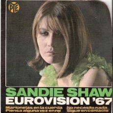 Discos de vinilo: SANDIE SHAW EP HISPAVOX 1967. Lote 22375197