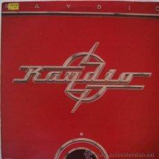 Discos de vinilo: RAYDIO (ESPAÑA-ARISTA-1978) R&B SOUL LP. Lote 23722415
