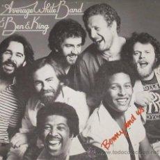 Discos de vinilo: AVERAGE WHITE BAND & BEN E. KING - BENNY AND US - (ESPAÑA-ATLANTIC-1977) PROMO - SOUL LP. Lote 23757044