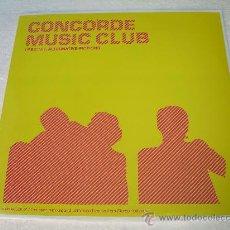 Discos de vinilo: LP CONCORDE MUSIC CLUB VINILO LOUNGE. Lote 22368831