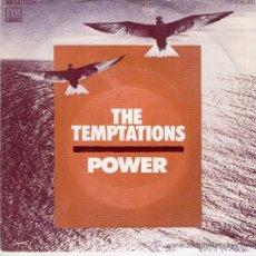 Discos de vinilo: THE TEMPTATIONS -- POWER -- SG DISCO MOTOWN-- SIDE ONE VOCAL // SIDE TWO INTRUMENTAL. Lote 26447451