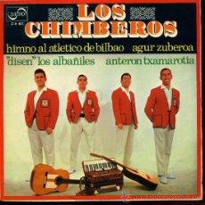 Discos de vinilo: LOS CHIMBEROS - HIMNO AL ATLÉTICO DE BILBAO / DISEN LOS ALBAÑILES / AGUR ZUBEROA - EP 1969. Lote 23753771
