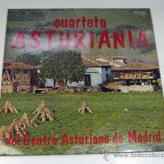 Discos de vinilo: CUARTETO ASTURIANIA DEL CENTRO ASTURIANO DE MADRID. ASTURIAS. 1981. Lote 26121380