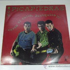 Discos de vinilo: LOS PICAPIEDRAS. CORTA EL ROLLO PERIQUITO MANO NEGRA RECORDS. 1989. Lote 22406273