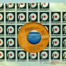 Discos de vinilo: VILLAGE PEOPLE BANDA SONORA ORIGINAL CAN'T STOP THE MUSIC MILKSHAKE 1980 SINGLE 45 RPM VINILO. Lote 22404514