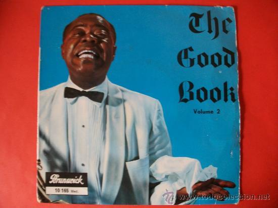 EP LOUIS ARMSTRONG THE GOOD BOOK (Música - Discos de Vinilo - EPs - Jazz, Jazz-Rock, Blues y R&B)