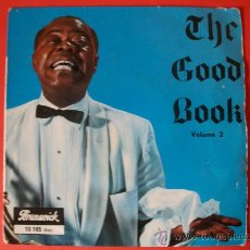 Discos de vinilo: EP LOUIS ARMSTRONG THE GOOD BOOK. Lote 26580577