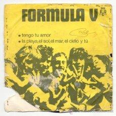Discos de vinilo: SINGLE - FORMULA V -