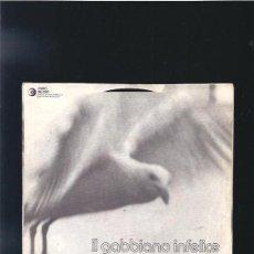 Discos de vinilo: IL GUARDIANO DEL FARO IL GABBIANO INFELICE. Lote 22440445