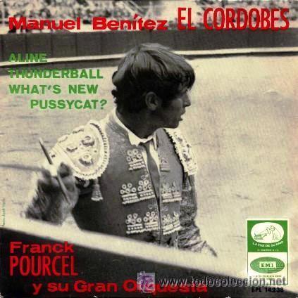 EL CORDOBÉS - FRANK POURCEL Y SU GRAN ORQUESTA - 1966 (Música - Discos de Vinilo - EPs - Flamenco, Canción española y Cuplé)