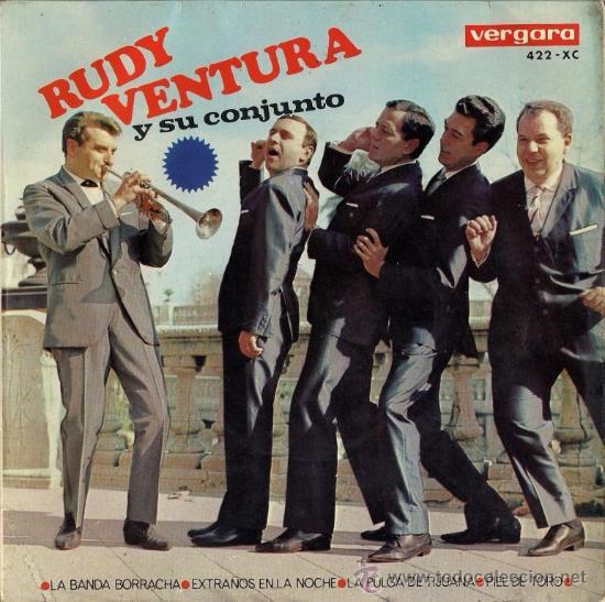 RUDY VENTURA Y SU CONJUNTO - EP - 1966 (Música - Discos de Vinilo - EPs - Grupos Españoles 50 y 60)